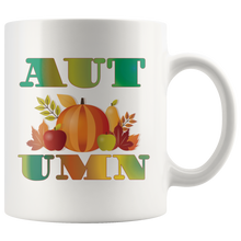 Load image into Gallery viewer, Autumn Coffee Mug Table Decor Gifts Word Art Cup - Hundredth Monkey Tees
