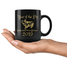 Load image into Gallery viewer, Year of the Pig Coffee Mug 2019 Chinese New Year Zodiac