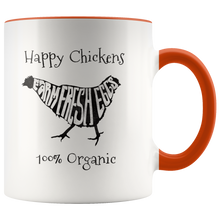 Load image into Gallery viewer, Farm Fresh Eggs Coffee Mug Chicken Organic Farmer Farmstand - Hundredth Monkey Tees