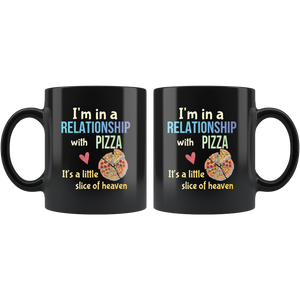 Funny Pizza Lovers Pun Coffee Mug Cheesy Joke Gift - Hundredth Monkey Tees