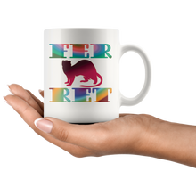 Load image into Gallery viewer, Fancy Ferret Mug Pet Lovers Mom Dad Colorful Gift - Hundredth Monkey Tees