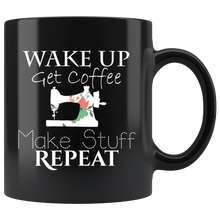 Load image into Gallery viewer, Handmade Crafting Sewing Make Stuff Coffee Mug - Hundredth Monkey Tees