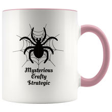 Load image into Gallery viewer, Spider Totem Animal Spirit Insect Coffee Mug Mysterious Crafty Strategic - Hundredth Monkey Tees