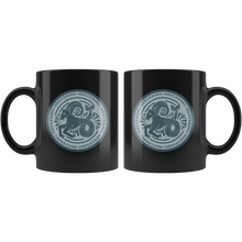 Load image into Gallery viewer, Capricorn Birthday Astrology Zodiac Birth Signs Coffee Mug Black - Hundredth Monkey Tees