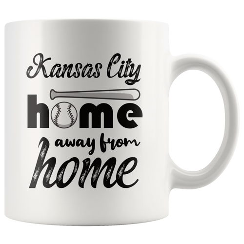 Kansas City Baseball Coffee Mug Missouri Sports Fans Mug - Hundredth Monkey Tees