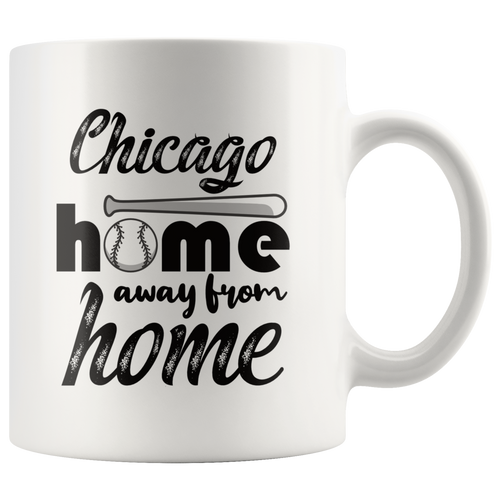 Chicago Baseball Coffee Mug Illinois Sports Fans Mug - Hundredth Monkey Tees