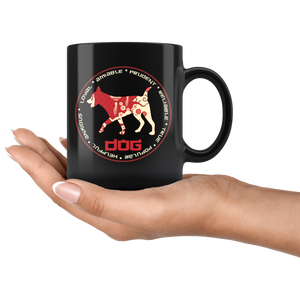 Chinese Zodiac Year of the Dog Coffee Mug Astrology Horoscope Gift - Hundredth Monkey Tees