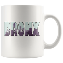 Load image into Gallery viewer, Bronx Skyline Coffee Mug Souvenir City New York Gift - Hundredth Monkey Tees