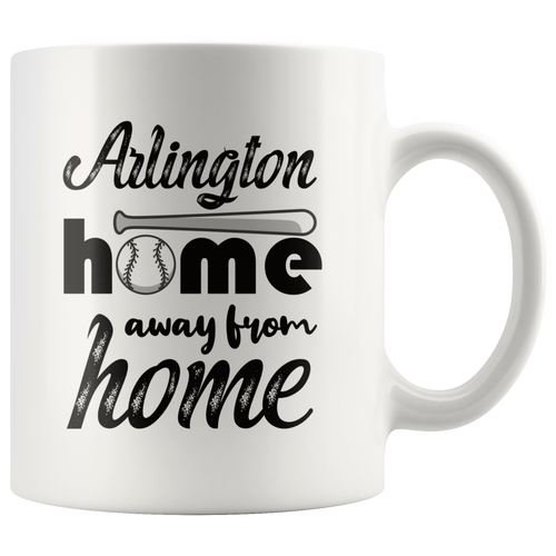 Arlington Baseball Coffee Mug Texas Sports Fans Mug - Hundredth Monkey Tees