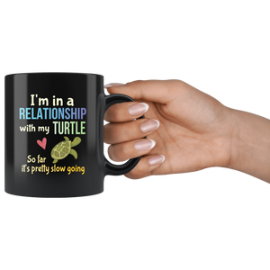 Funny Pet Turtle Lovers Pun Coffee Mug Tortoise Owners Joke Gift - Hundredth Monkey Tees