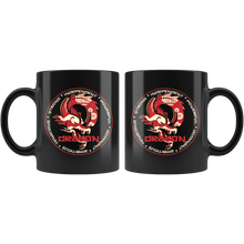Load image into Gallery viewer, Chinese Zodiac Dragon Coffee Mug Astrology Horoscope Gift - Hundredth Monkey Tees