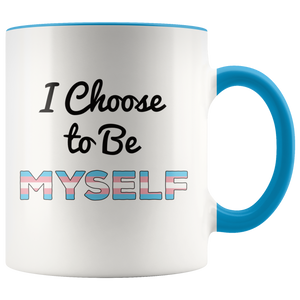 Transgender Coffee Mug Trans Person Pride Empowerment - Hundredth Monkey Tees