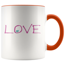 Load image into Gallery viewer, Love Coffee Mug Valentines Day Word Simple Gift - Hundredth Monkey Tees
