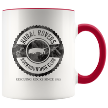 Load image into Gallery viewer, Rockhounding Club Coffee Mug for Rock Hunters Collectors Geologists - Hundredth Monkey Tees