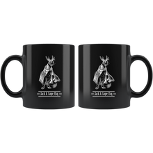 Load image into Gallery viewer, Funny Jackalope Coffee Mug Cryptid Bunny Rabbit Jack. A. Lope Esq - Hundredth Monkey Tees