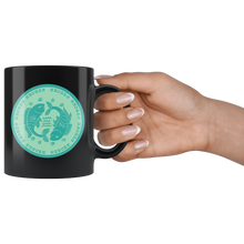 Load image into Gallery viewer, Pisces Birthday Astrology Zodiac Birth Signs Coffee Mug Black - Hundredth Monkey Tees