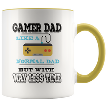 Load image into Gallery viewer, Gamer Dad Coffee Mug Video Games Geek Father Funny Gift - Hundredth Monkey Tees