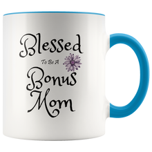 Load image into Gallery viewer, Bonus Mom Mug Gift for Stepmoms Second or Adopted Moms - Hundredth Monkey Tees