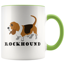 Load image into Gallery viewer, Rockhound Cute Geologist Coffee Mug Rock Lovers Geology Nuts