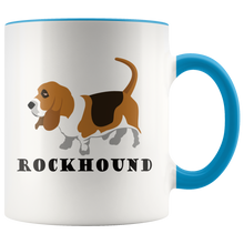 Load image into Gallery viewer, Rockhound Cute Geologist Coffee Mug Rock Lovers Geology Nuts - Hundredth Monkey Tees
