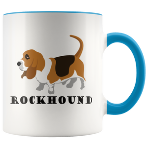 Rockhound Cute Geologist Coffee Mug Rock Lovers Geology Nuts - Hundredth Monkey Tees