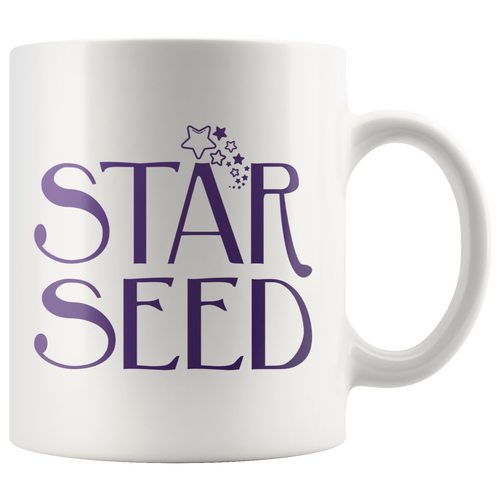 Starseed Coffee Mug Evolution Ascension Awakening Mug - Hundredth Monkey Tees