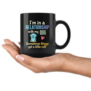 Funny Dog Lovers Pun Coffee Mug Dog Owners Joke Gift - Hundredth Monkey Tees