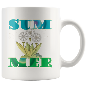 Summer Coffee Mug Table Decor Gifts Word Art Cup - Hundredth Monkey Tees