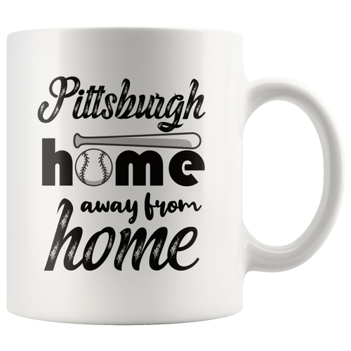 Pittsburgh Baseball Coffee Mug Souvenir Sports Fans Mug - Hundredth Monkey Tees