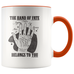 Palmistry Astrology Fate Palm Reading Coffee Mug - Hundredth Monkey Tees
