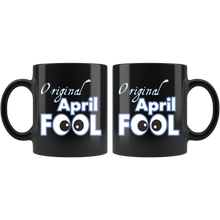 Load image into Gallery viewer, Original April Fool's Day Birthday Coffee Mug Gift - Hundredth Monkey Tees