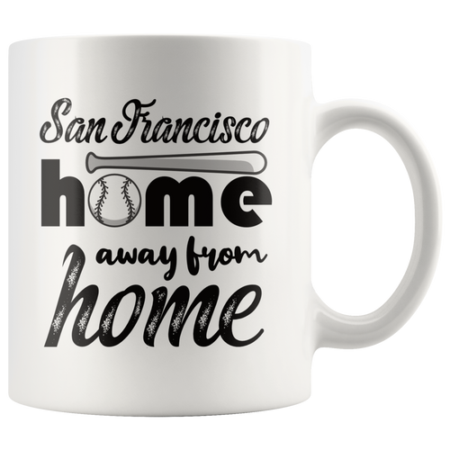 San Francisco Baseball Coffee Mug California Sports Fans Souvenir Mug - Hundredth Monkey Tees