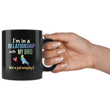 Load image into Gallery viewer, Funny Bird Lovers Pun Coffee Mug Joke Parakeet Lovers Gift - Hundredth Monkey Tees