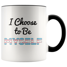 Load image into Gallery viewer, Transgender Coffee Mug Trans Person Pride Empowerment - Hundredth Monkey Tees