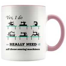 Load image into Gallery viewer, Vintage Sewing Machine Collectors Lovers Funny Humor Coffee Mug - Hundredth Monkey Tees