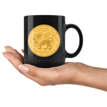 Load image into Gallery viewer, Leo Birthday Astrology Zodiac Birth Signs Coffee Mug Black - Hundredth Monkey Tees