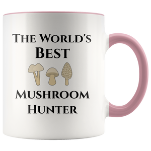 Mycology: World's Best Mushroom Hunter Coffee Mug - Hundredth Monkey Tees
