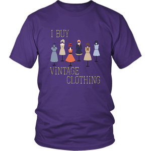 I Buy Vintage Clothing Tshirt for Sellers, Shop Owners, Clothes Hobbyists Collectors - Hundredth Monkey Tees
