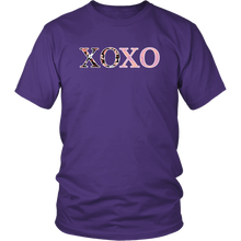 Load image into Gallery viewer, Valentine's Day XOXO Shirt Happy Hugs Kisses Love Day Tee - Hundredth Monkey Tees