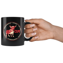 Load image into Gallery viewer, Chinese Zodiac Ox Bull Coffee Mug Astrology Horoscope New Year Gift - Hundredth Monkey Tees