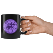 Load image into Gallery viewer, Sagittarius Birthday Astrology Zodiac Birth Signs Coffee Mug Black - Hundredth Monkey Tees