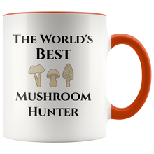 Load image into Gallery viewer, Mycology: World's Best Mushroom Hunter Coffee Mug - Hundredth Monkey Tees