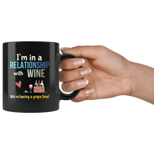 Load image into Gallery viewer, Funny Wine Lovers Coffee Mug Have a Grape Time! - Hundredth Monkey Tees
