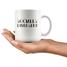 Load image into Gallery viewer, Antisocial Coffee Mug Funny Socially Divergent Introvert Gift  Drinkware