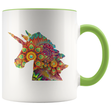 Load image into Gallery viewer, Unicorn Coffee Mug Cute Mug Designs Animals Mystical Colorful - Hundredth Monkey Tees