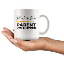Load image into Gallery viewer, Volunteer Parent Coffee Mug School Chaperone Staff Gift - Hundredth Monkey Tees