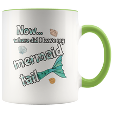 Load image into Gallery viewer, Cute Mermaid Tail Funny Saying Coffee Mug - Hundredth Monkey Tees