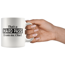 Load image into Gallery viewer, Hard Pass Coffee Mug Funny Sarcasm Gift for Him - Hundredth Monkey Tees