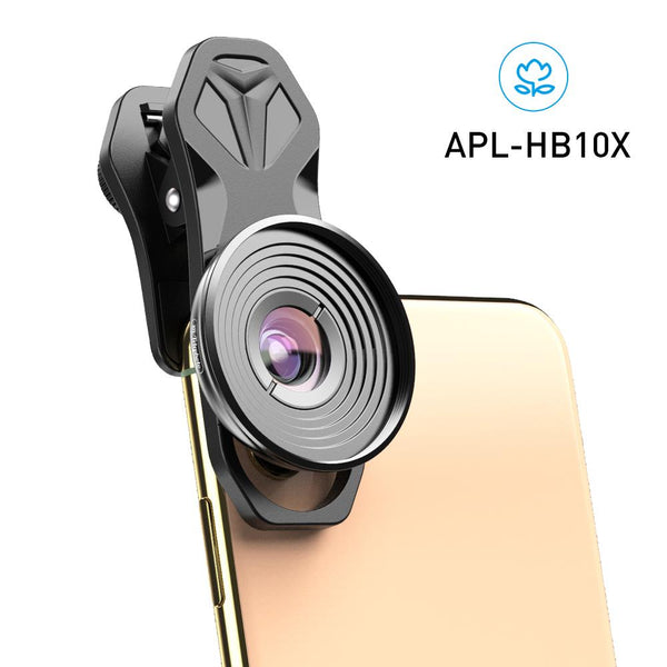 Dual Camera Clip HD 10x Macro Lens for Mobile Phone APEXEL