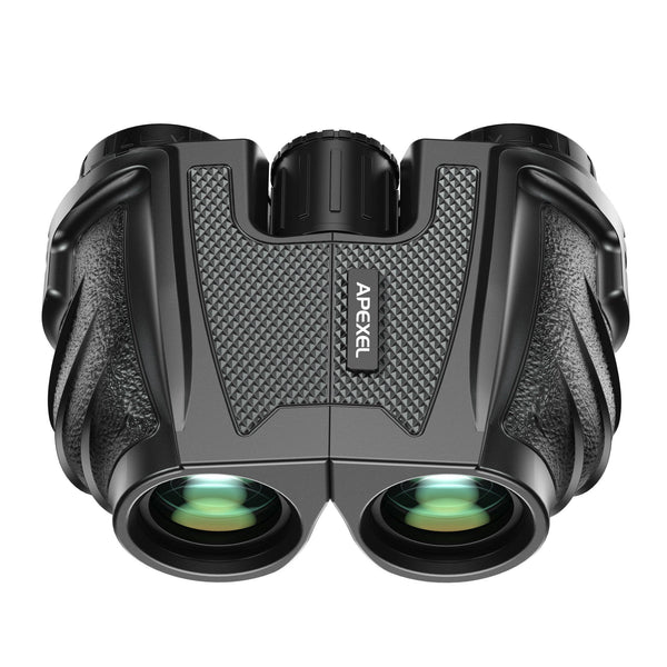 Powerful 10x25 Compact Binoculars for Bird Watching, Theater and Concerts, Hunting and Sport Games APEXEL